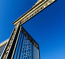 Gates of Versailles by claremulholland