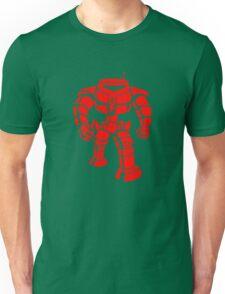 Manbot - Red Unisex T-Shirt