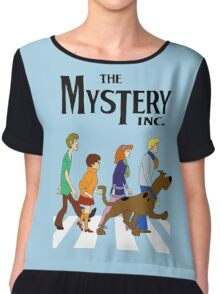 Scooby Doo Abbey Road Chiffon Top