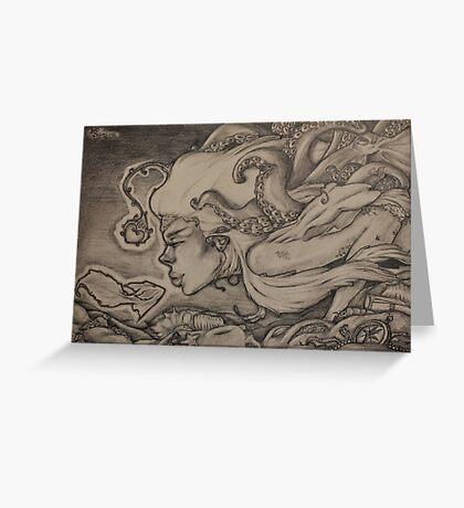 Gourami - Kissing Fish Greeting Card