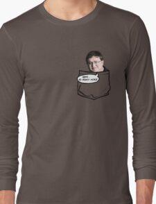 No money here ¬¬ Long Sleeve T-Shirt