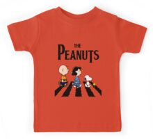 Peanuts Abbey Road Kids Tee