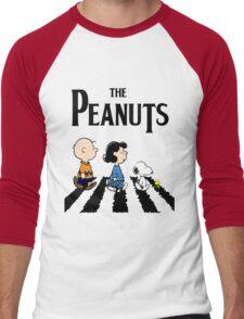 Peanuts Abbey Road Men's Baseball ¾ T-Shirt