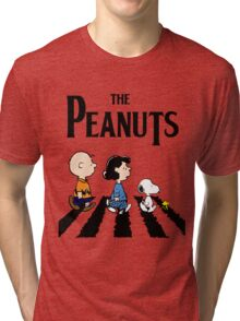 Peanuts Abbey Road Tri-blend T-Shirt