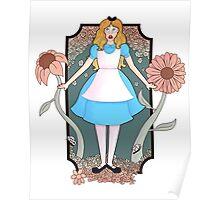 Alice Nouveau  Poster