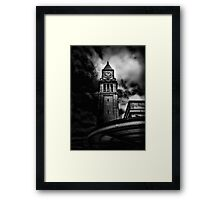 Clock Tower No 10 Scrivener Square Toronto Canada Framed Print