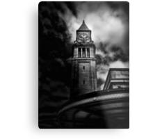 Clock Tower No 10 Scrivener Square Toronto Canada Metal Print