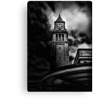 Clock Tower No 10 Scrivener Square Toronto Canada Canvas Print