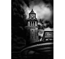 Clock Tower No 10 Scrivener Square Toronto Canada Photographic Print