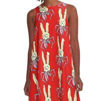 A Crabbit - crab-rabbit hybrid A-Line Dress