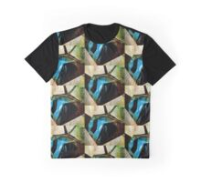 A STEALTH BOMBER, DIGITIZED Graphic T-Shirt