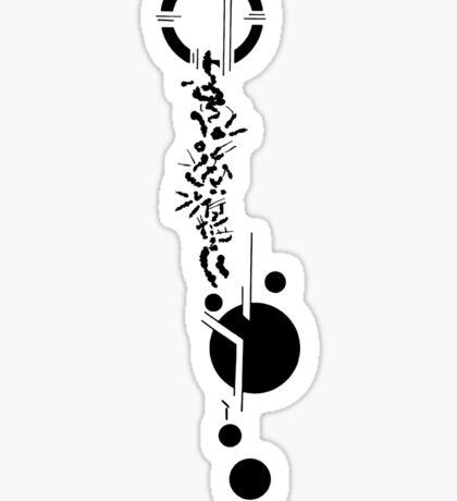 Lexa Heda tattoo Sticker