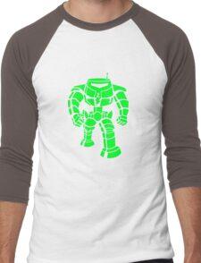 Manbot - Super Lime Variant Men's Baseball ¾ T-Shirt