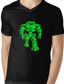 Manbot - Super Lime Variant Mens V-Neck T-Shirt