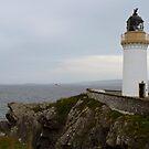 Kirkabister Ness Lighthouse by WatscapePhoto