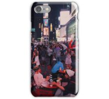 Time Square at night iPhone Case/Skin
