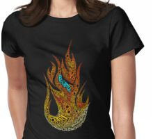 pyromania Womens Fitted T-Shirt