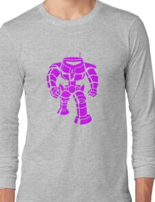 Manbot - Purple Variant Long Sleeve T-Shirt