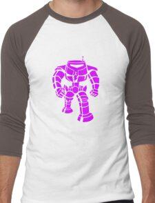 Manbot - Purple Variant Men's Baseball ¾ T-Shirt