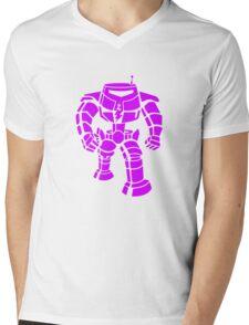 Manbot - Purple Variant Mens V-Neck T-Shirt