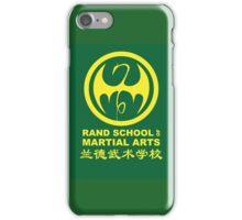 Rand School of Martial Arts Shirt iPhone Case/Skin