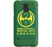 Rand School of Martial Arts Shirt Samsung Galaxy Case/Skin