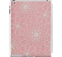 Vintage Tatted Lace  iPad Case/Skin