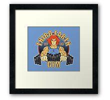 Third Earth Gym Framed Print