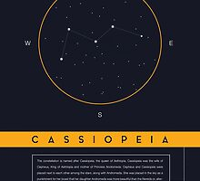 Cassiopeia Constellation by BlueBlackBeige