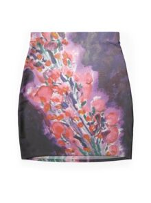 Flowers for Lucy by Sugarchele23 Mini Skirt