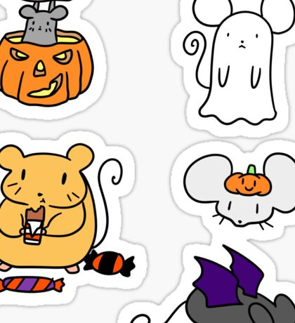 Halloween Mice! Sticker