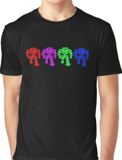 Manbot - Multi Bot Variant Graphic T-Shirt