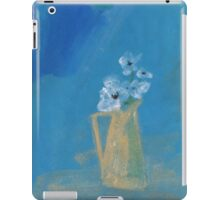 White poppies iPad Case/Skin