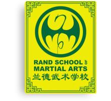 Rand School of Martial Arts Gold Class Canvas Print