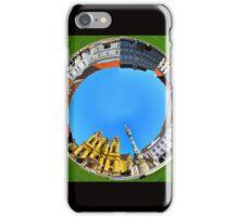 timisoara union square round panorama iPhone Case/Skin
