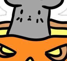 Jack O Lantern Mouse Sticker