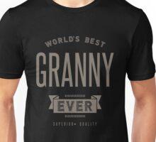 World's Best Granny Ever Unisex T-Shirt