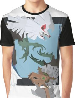Pokemon Type:null and Silvally Graphic T-Shirt