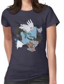 Pokemon Type:null and Silvally Womens Fitted T-Shirt