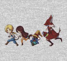 Final Fantasy IX One Piece - Long Sleeve