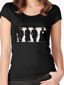 Shootout at the O.K. Corral Women's Fitted Scoop T-Shirt