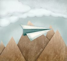 Paper Airplane 24 by YoPedro