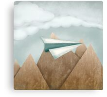 Paper Airplane 24 Canvas Print