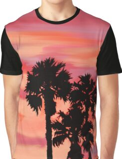 October Sunset in Los Angeles Graphic T-Shirt