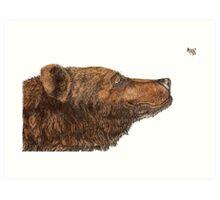 Bear Necessities by Inkspot Art Print