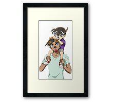 Conan X Heiji sanpchat filter Framed Print