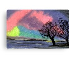 Sky of Many Colours Canvas Print