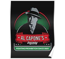 capone's brewery Poster