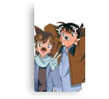 Shinichi X Ran sanpchat filter Canvas Print