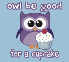 Cute! OWL be good for a cupcake One Piece - Short Sleeve